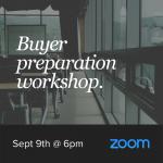 Buyer Preparation Seminar - September 9th